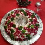 Novogodisnja  salata od brokolia, karfiola i nara