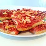 Lijevana pica sa hrenovkama