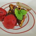 Sladoled od crvene i crne ribizle