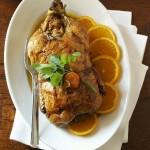 Pečena patka u sosu od narandže