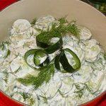 Salata od krastavaca sa pavlakom