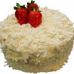 Torta sa belom čokoladom i orasima