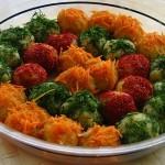 Šarene loptice od krompira