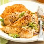 Glazirana piletina sa javorovim sirupom