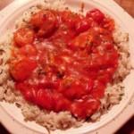 Škampe u  paradajz sosu