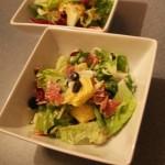 Mešana salata za večeru | Artičoka