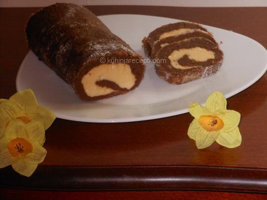 Čokoladni-rolat-sa-orasima