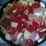 Pečena piletina sa povrćem recept