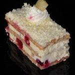 Voćna torta sa višnjama recept
