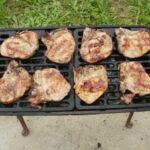 Svinjski vrat i krmenadle na roštilju