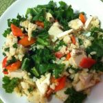 Letnja salata sa keljom