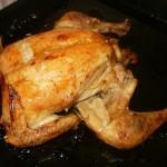 Hrskava pečena piletina sa povrćem