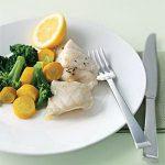 Riba sa povrćem na lešo