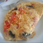 Omlet sa pečurkama i paradajzom