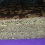 Torta sa makom i bademima