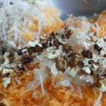 Salata od čičoke i šargarepe