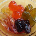 Kandirano voće i đumbir