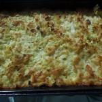 Zapečeni makaroni sa sirom i tikvicama