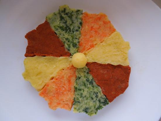1 šarena salata od krompira