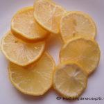 Osušeni kolutići limuna