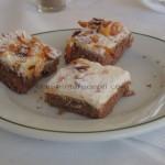 Badem kolač s kandiranim dunjama