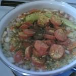 Beli pasulj s kobasicom i povrćem