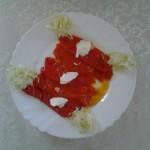 Sočne crvene paprike