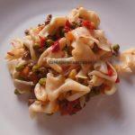 Povrće i meso s domaćim tagliatellama