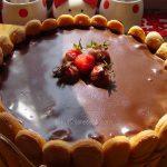 Šarlota letnja torta s maskarponeom i jagodama