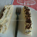 Torta s mlečnom čokoladom i šlagom bez brašna