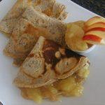 Heljdine palačinke s jabukama