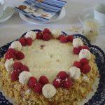 Rafaelo malina torta