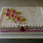 Beli anđeo torta