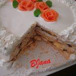 Kapučino torta s iriš kafom