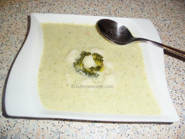 krem supa od brokule i karfiola