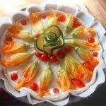 Jedinstvena pica sa cvetovima tikvica