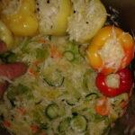 Sarena salata i paprike s kupusom