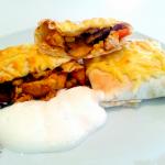 Tortilje s piletinom – Chimichanga