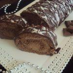 Carobni rolat sa cokoladom