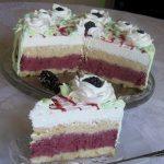 Brza nepečena torta s kupinama