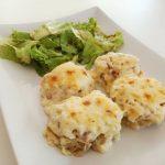 Đulbastije s rendanim krumpirom i dva sira
