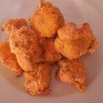 Pohovani karfiol iz rerne s kukuruznim brašnom i korijanderom