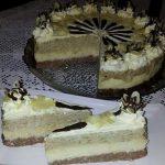 Pijesak torta s kokosom i orasima