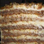 Karamel torta s krokantom