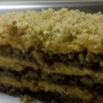 Posna torta s orasima i vanilijom