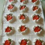 Proljetni kolač s jagodama