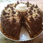 Cokoladna torta s puslicama