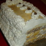 Karamel torta s dvije kreme