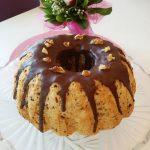 Kuglof od bjelanjaka, čokolade i oraha