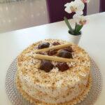 Lješnjak torta sa čokoladom i rumom